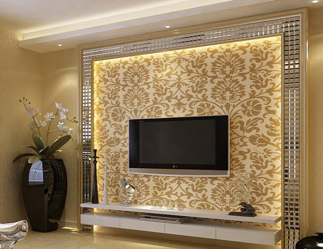 镜框电视背景墙的装修方法