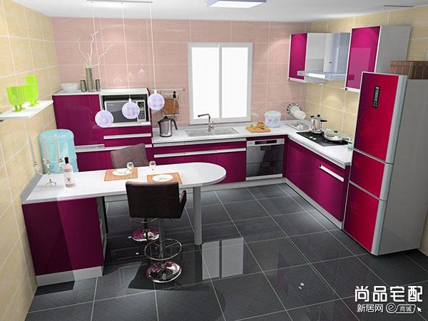 小户型的开放式厨房
