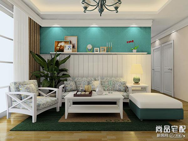 沙发后装饰柜