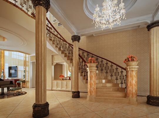 别墅楼梯材料如何选
