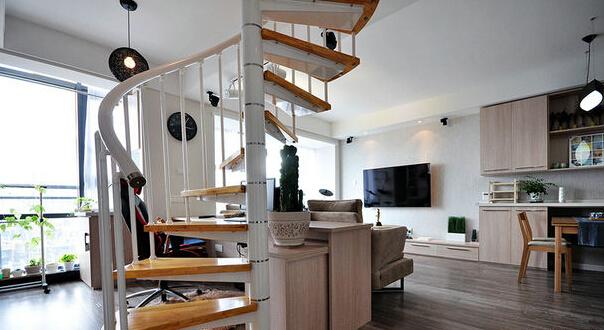家庭阁楼楼梯如何设计