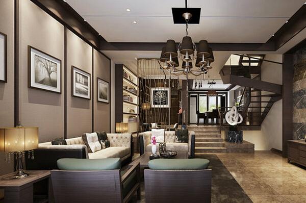 客厅与楼梯设计怎样更好看