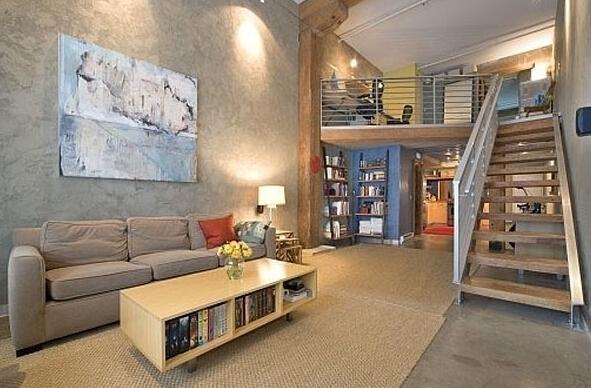 斜顶阁楼楼梯怎么设计更好看