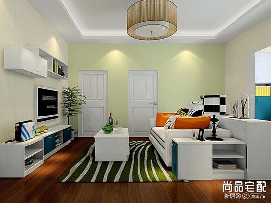 客厅墙面乳胶漆颜色选择