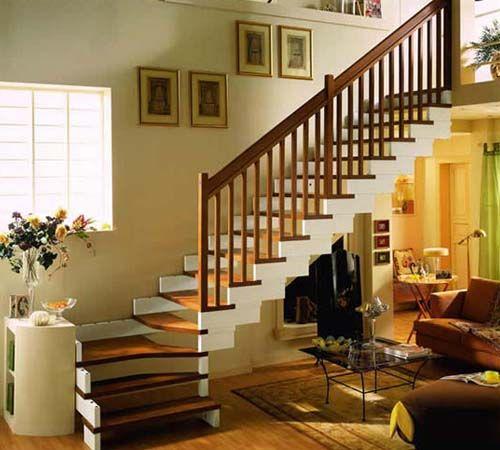 铁艺楼梯效果图