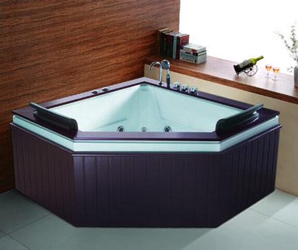 扇形浴缸图片效果图2015