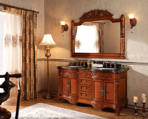 十大仿古浴室柜品牌排行 浴室柜十大名牌