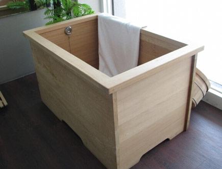 木桶浴缸好用吗 木浴桶价格