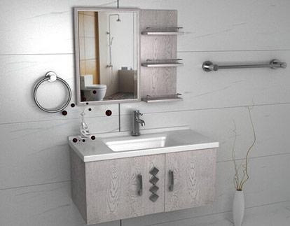 朗司橡木浴室柜