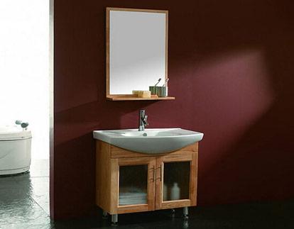 定做浴室柜价格 浴室柜定制效果图