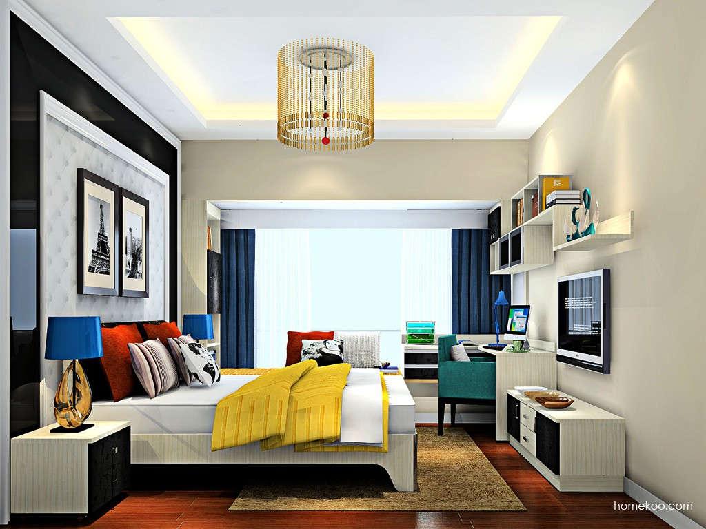 米兰剪影卧房家具