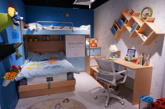 环保当道,尚品宅配给孩子一间健康的儿童房
