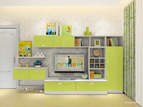 现代简约电视墙造型