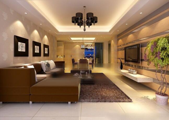 客厅地板砖图片 客厅地板砖装修效果