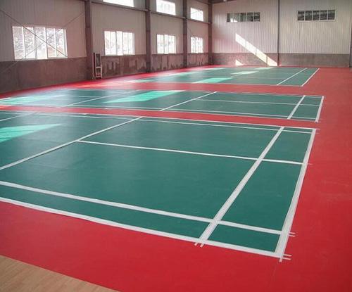 羽毛球运动地板优点
