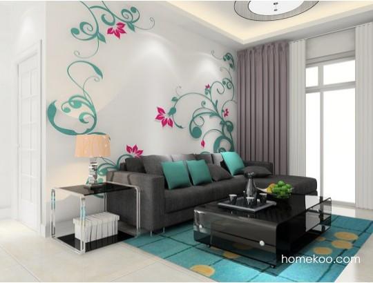 墙面装饰:墙面漆颜色选择与搭配