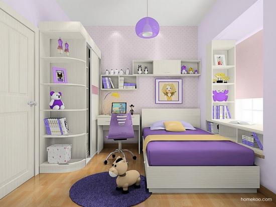 家庭装修中儿童房装修和书房注意事项
