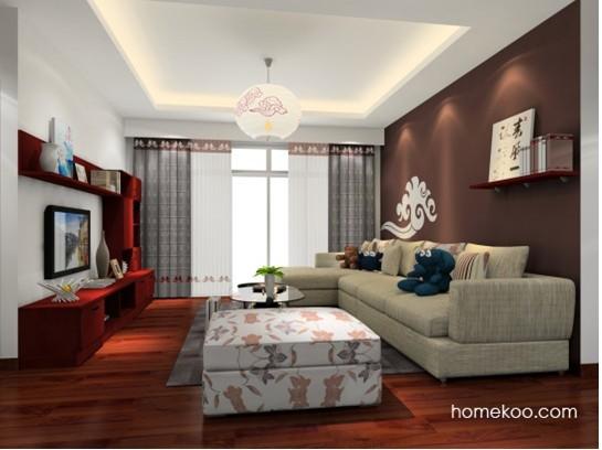 简约中国风格家居装修效果图