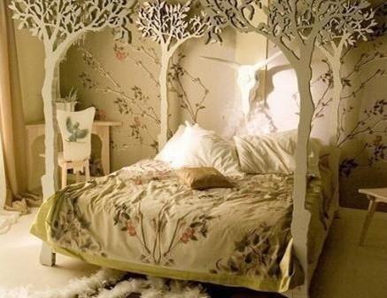 四款浪漫唯美的公主房效果图欣赏 女孩喜爱的公主房