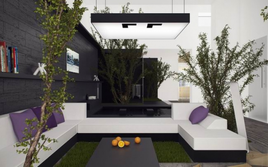 现代家居设计风格(效果图)