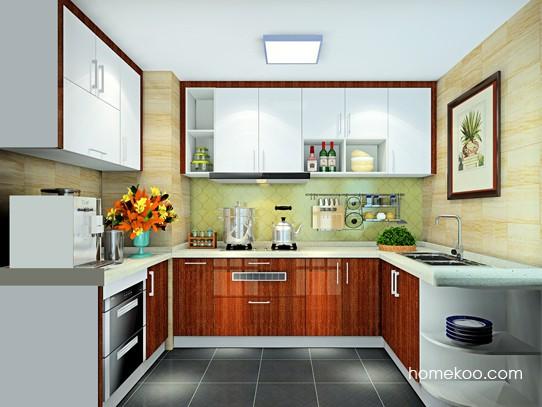 4�O门窗相邻平窗2扇门厨房
