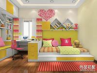 儿童房装修效果图女孩风格图片