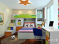 儿童房上下床装修效果图大全