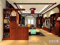 2016中式客厅装修效果图欣赏