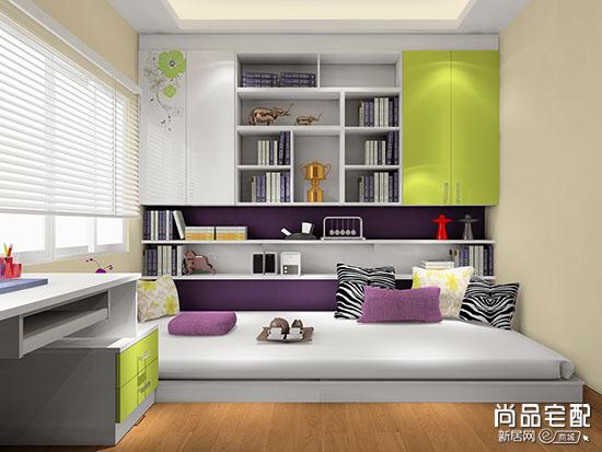 榻榻米卧室设计系列之小户型