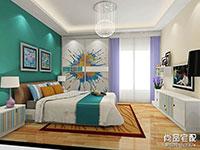 卧室板式组合电视柜图片