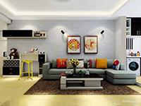 客厅沙发背景装饰画哪种好?
