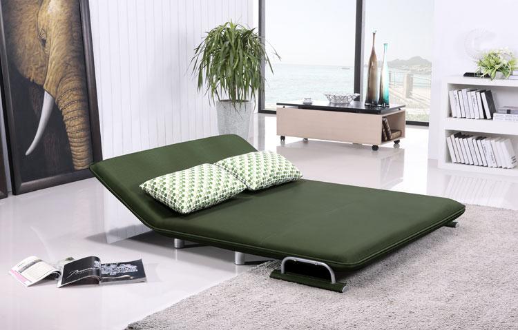 折叠沙发床怎么放