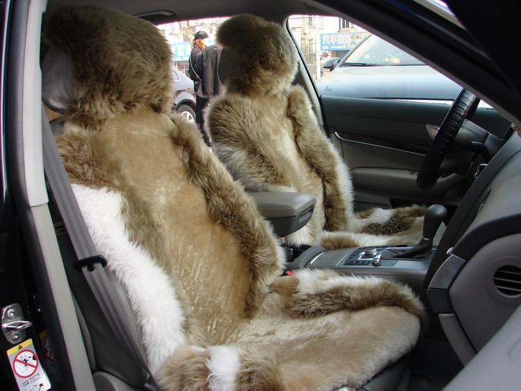 羊毛坐垫图片
