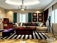 新款布艺沙发坐垫图案大全