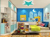 儿童房立体墙贴有哪些图案