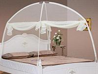 蒙古包蚊帐折叠方法
