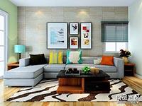 现代客厅装修样板房主要看什么?