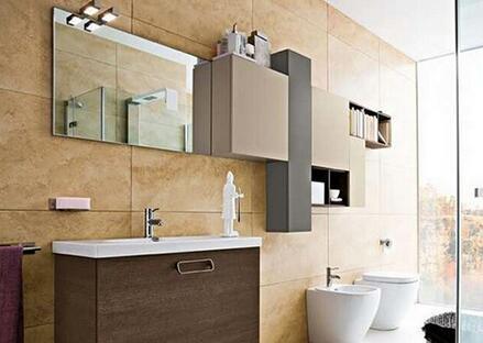 整体浴室柜图片效果图