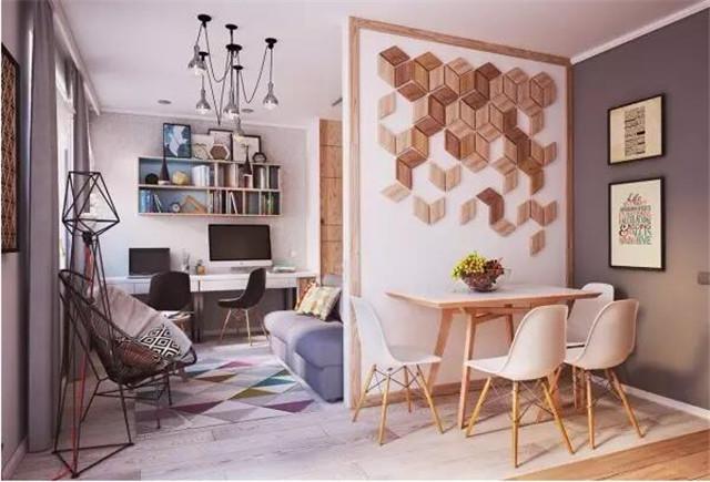 40平小清新简约风格小公寓装修