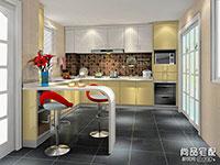 厨房效果图大全2016图片