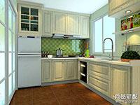 小型厨房整体橱柜图片