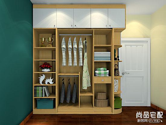 敞开式衣柜图片有哪些风格?