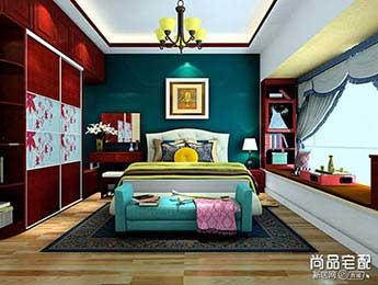 卧室墙纸图片大全