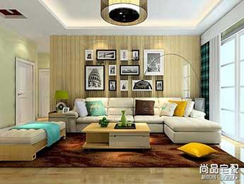 小户型布艺沙发组合哪种搭配才好