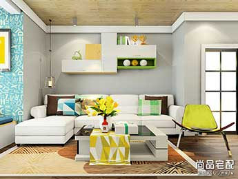 布艺沙发坐垫各式风格搭配方法攻略