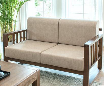 红木沙发坐垫带靠背的,哪种更搭?