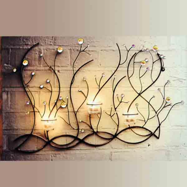 古典镂空铁艺烛台有哪些款式