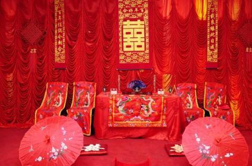 中式婚礼流程 中式婚礼程序