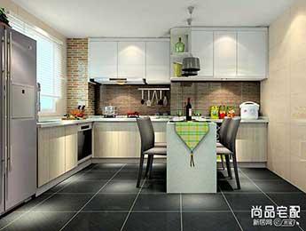 开放式小厨房设计怎么做