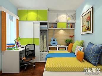 青少年卧室设计图欣赏